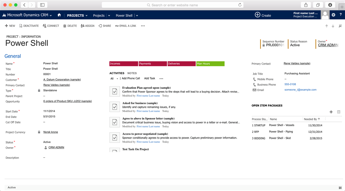 AITC Project execution module app